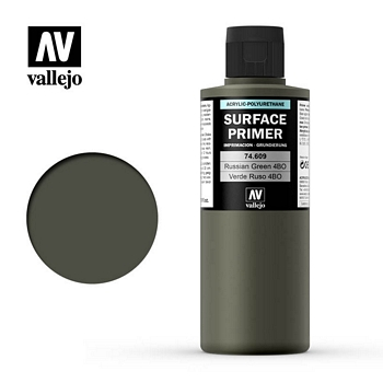 Vallejo Surface Primer – 74609 Russian Green 4BO 200ml