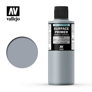 Vallejo Surface Primer – 74615 USN Light Grey 200ml