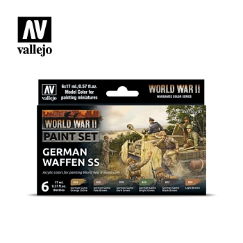 Model Color German Waffen SS