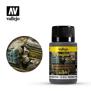 Vallejo Weathering Effects - Engine Grime 40ml
