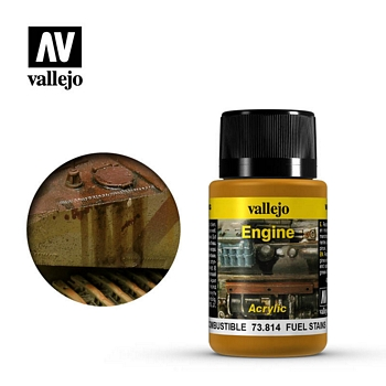 Vallejo Weathering Effects - Fuel Stains 40ml