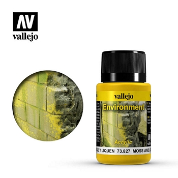 Vallejo Weathering Effects - Moss and Lichen 40ml