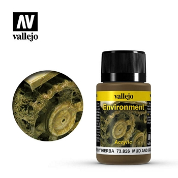 Vallejo Weathering Effects - Mud And Grass 40ml
