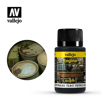 Vallejo Weathering Effects - Petrol Spills 40ml
